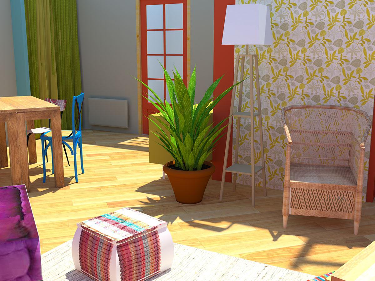 etoile formation mod liser en 3d avec sketchup l 39 am nagement et l 39 architecture d 39 int rieur. Black Bedroom Furniture Sets. Home Design Ideas