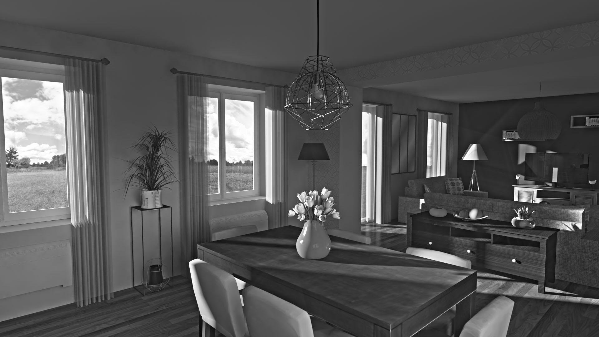 la puissance de sketchup. Black Bedroom Furniture Sets. Home Design Ideas