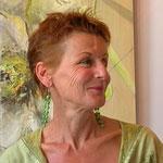 Geneviève Naudin, décoratrice, professeur à l'académie de la décoration
