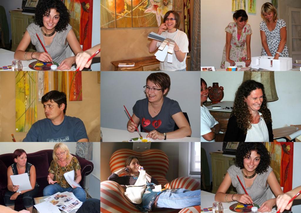 Portrait de groupe des élèves de la promotion de juin 2009